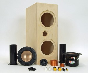 Home Audio DIY Center Channel Speaker Kits